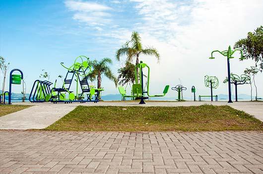 Florianópolis vai receber 100 novas academias ao ar livre.