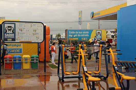 Ziober Brasil presente na Campanha Saúde na estrada.