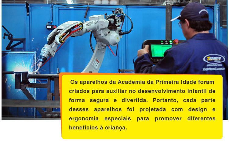 Produção com solda robótica da Ziober Brasil