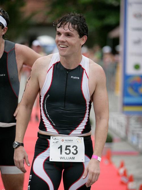 William Garcia é triatleta e professor de Educação Física (Foto: Rick Nogueira)