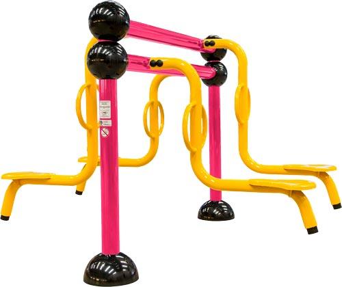Brinquedo para Playground Infantil Gangorra Cruzada