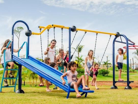 Playground Ziober Brasil em condomínio