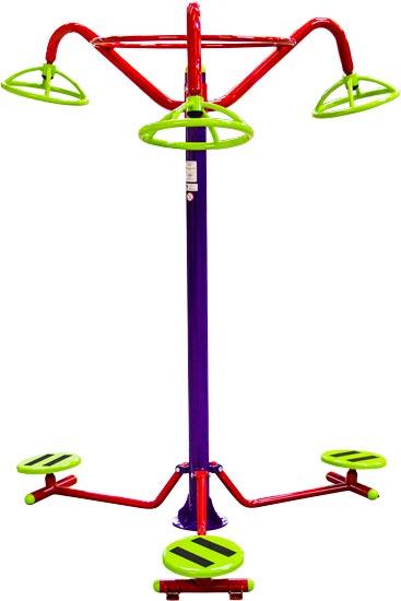 Brinquedo para Playground Infantil Tornado Triplo