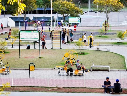 Calor faz aumentar o movimento das academias ao ar livre