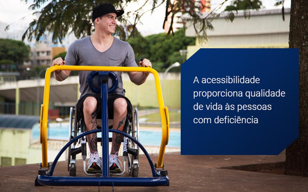 Acessibilidade proporciona qualidade de vida para as Pessoas com Deficiência