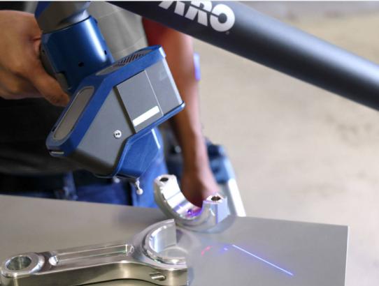 Ziober Brasil investe em scanner 3D para engenharia reversa